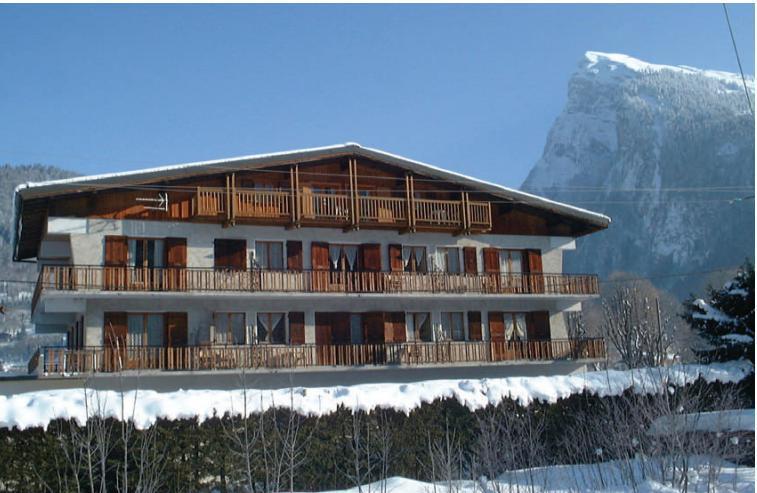 Location au ski Résidence Giffre et Clesson - Samoëns - Extérieur hiver