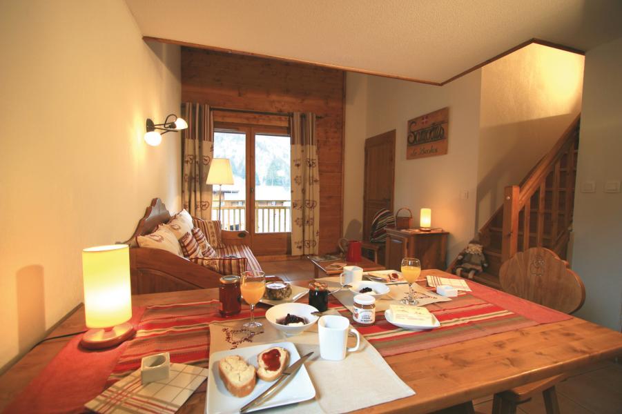 Location au ski Résidence Lagrange les Fermes de Samoëns - Samoëns - Salle à manger