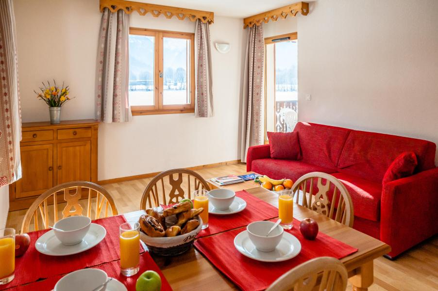 Location au ski Residence Le Domaine Du Grand Tetras - Samoëns - Canapé-lit