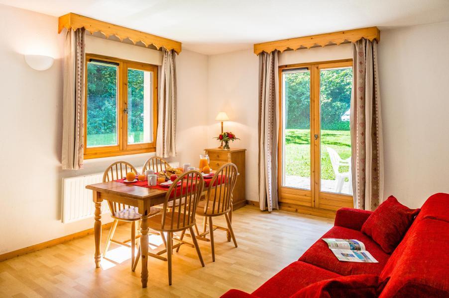 Location au ski Résidence le Domaine du Grand Tétras - Samoëns - Salle à manger