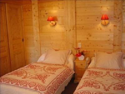 Location au ski Chambre Twin (Bains WC) - Hotel Les Glaciers - Samoëns - Chambre