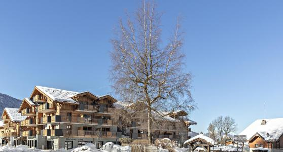 Rent in ski resort Résidence Alexane - Samoëns - Winter outside