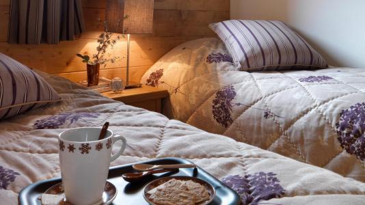 Rent in ski resort Résidence la Reine des Prés - Samoëns - Bedroom
