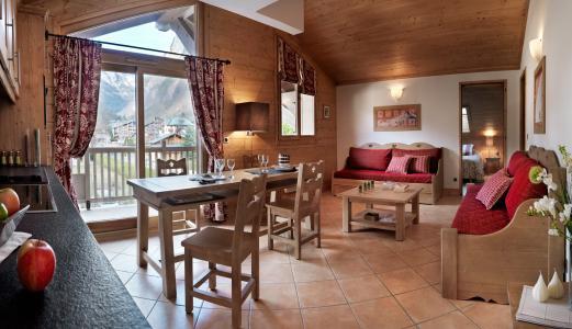 Rent in ski resort Résidence la Reine des Prés - Samoëns - Living room