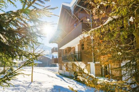 Location au ski Résidence Lagrange les Fermes de Samoëns - Samoëns - Extérieur hiver