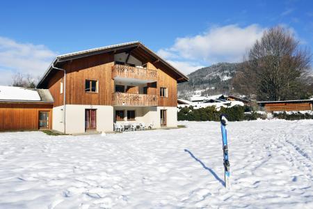 Location au ski Résidence le Domaine du Grand Tétras - Samoëns - Extérieur hiver