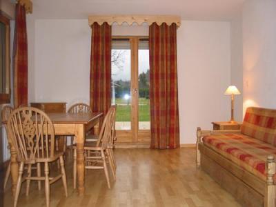 Location au ski Appartement 3 pièces 6 personnes - Residence Le Domaine Du Grand Tetras - Samoëns - Séjour