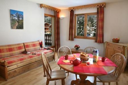 Location au ski Residence Le Domaine Du Grand Tetras - Samoëns - Séjour