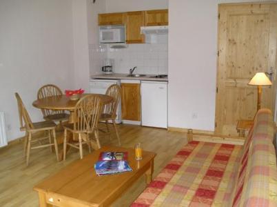 Location au ski Studio cabine 4 personnes - Residence Le Domaine Du Grand Tetras - Samoëns - Séjour
