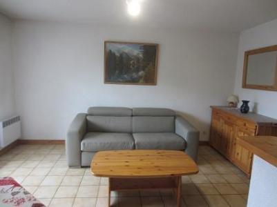 Rent in ski resort 2 room apartment 4 people (2P14) - Résidence Le Marolie - Samoëns - Settee