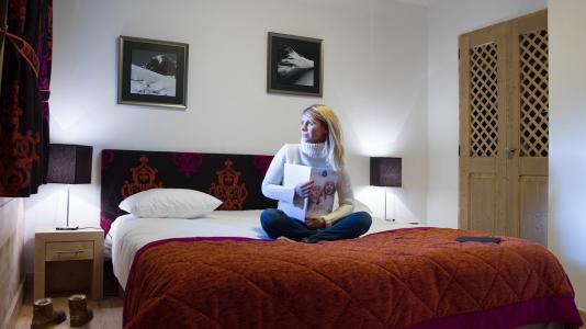 Rent in ski resort Résidence les Chalets de Layssia - Samoëns - Bedroom
