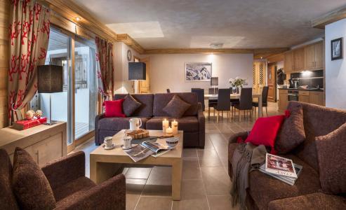 Rent in ski resort Résidence les Chalets de Layssia - Samoëns - Living room