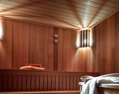 Rent in ski resort Résidence les Chalets de Layssia - Samoëns - Sauna