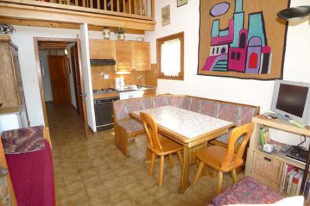 Rent in ski resort Studio mezzanine 6 people (3P11) - Résidence les Hauts de Trainant - Samoëns - Apartment