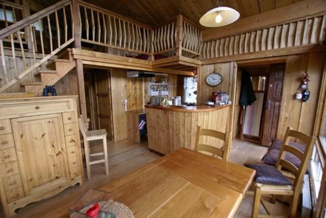 Аренда на лыжном курорте Шале дуплекс 5 комнат 10 чел. - Chalet la Conchette - Sauze - Super Sauze - Салон
