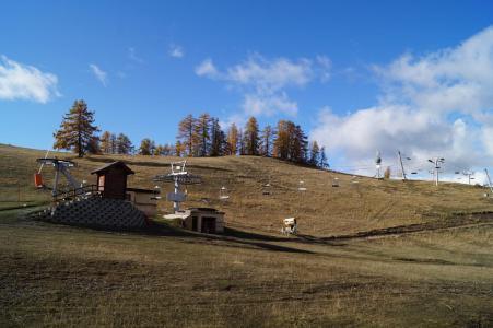 Аренда на лыжном курорте Квартира студия со спальней для 4 чел. (309) - Résidence les Cimes - Sauze - Super Sauze