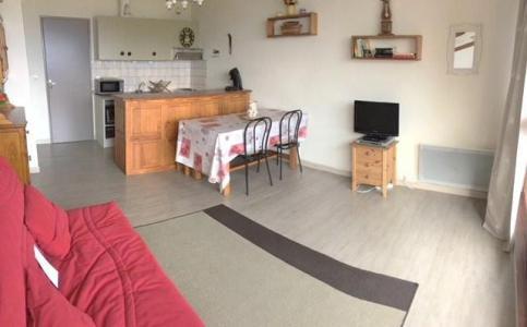 Аренда на лыжном курорте Квартира студия со спальней для 4 чел. (74A) - Résidence les Mélèzes - Sauze - Super Sauze - Стол