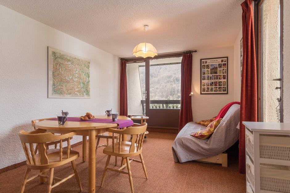 Location au ski Appartement 2 pièces coin montagne 6 personnes (040) - Residence Bois Des Coqs - Serre Chevalier - Coin repas