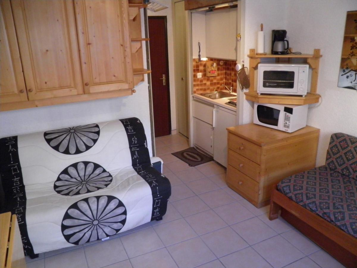 Location au ski Studio 2 personnes (562) - Residence Bois Des Coqs - Serre Chevalier - Coin séjour