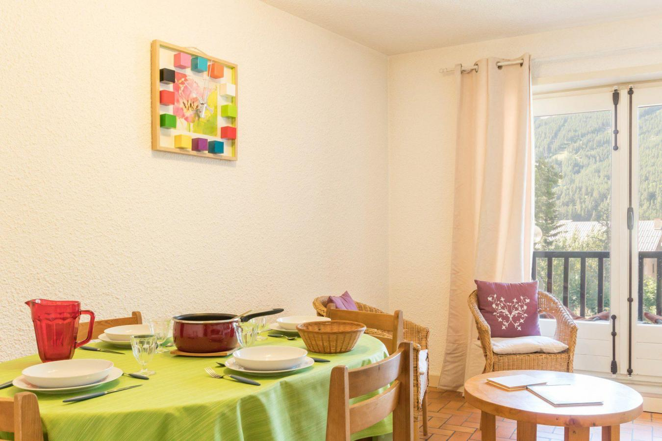 Location au ski Appartement 2 pièces coin montagne 6 personnes (204) - Residence Edelweiss - Serre Chevalier - Plaques électriques
