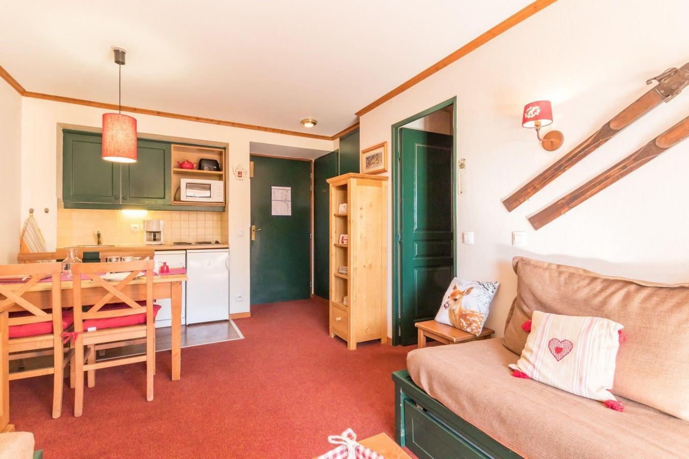 Location au ski Appartement 2 pièces 5 personnes (004) - Residence L'alpaga - Serre Chevalier