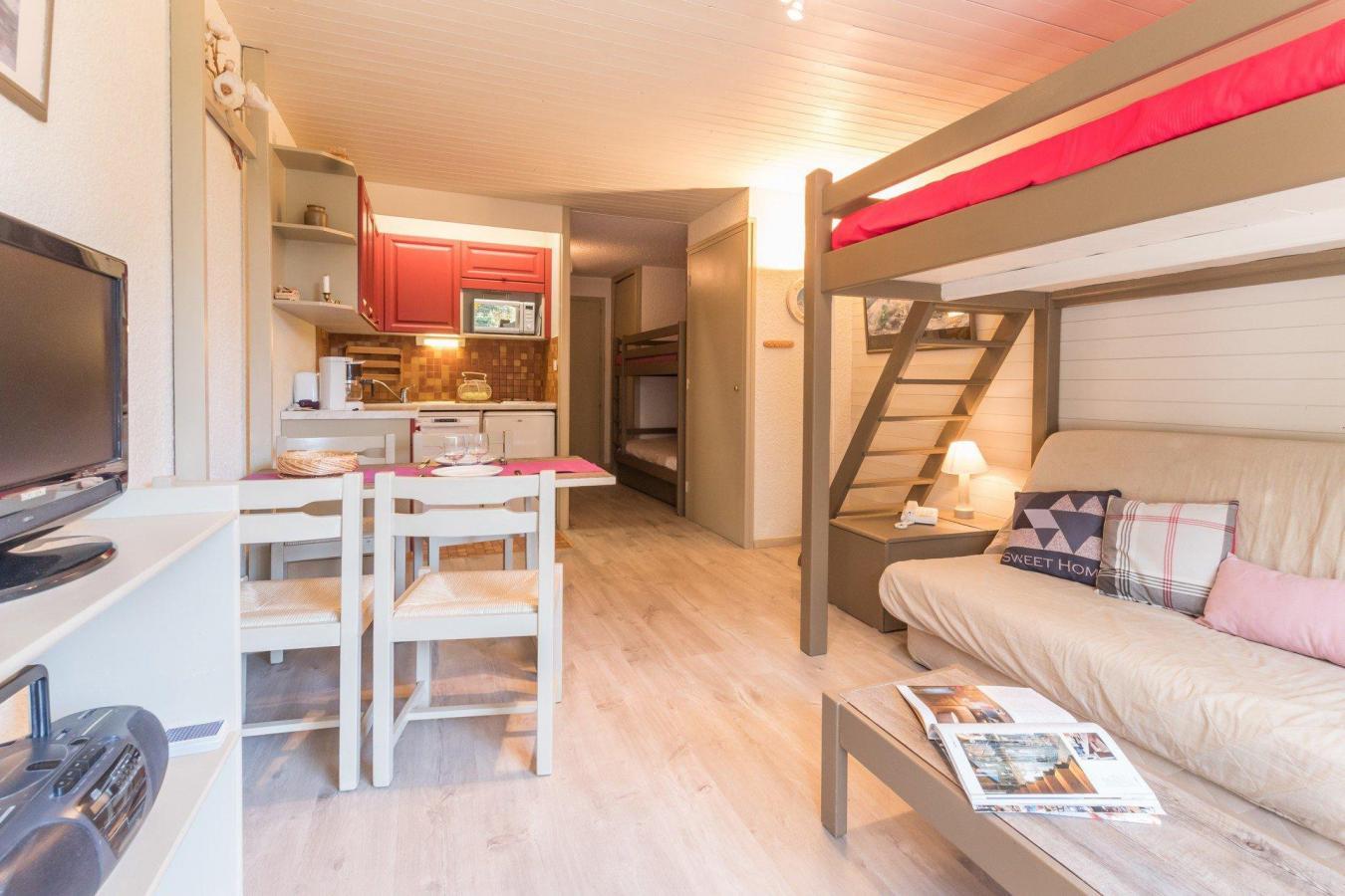 Location au ski Studio coin montagne 4 personnes (108) - Residence L'izoard - Serre Chevalier