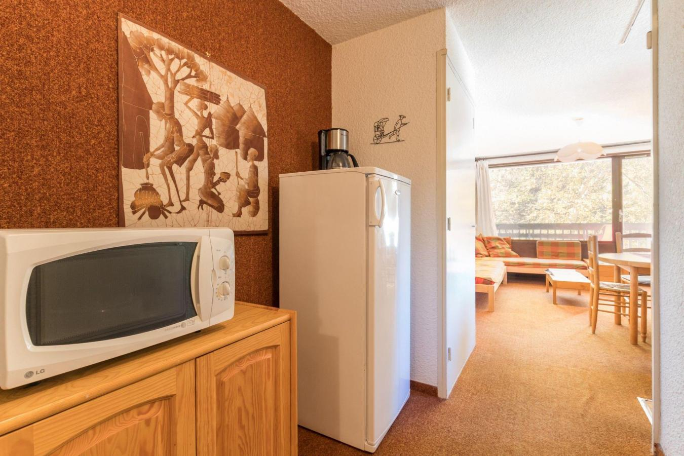 Location au ski Studio coin montagne 4 personnes (NOL002) - Residence L'izoard - Serre Chevalier - Baignoire