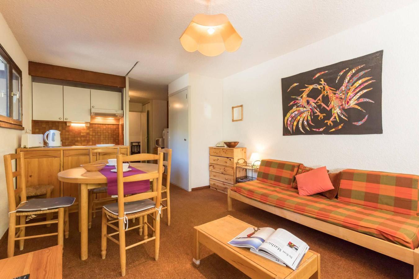 Location au ski Studio coin montagne 4 personnes (NOL002) - Residence L'izoard - Serre Chevalier - Kitchenette