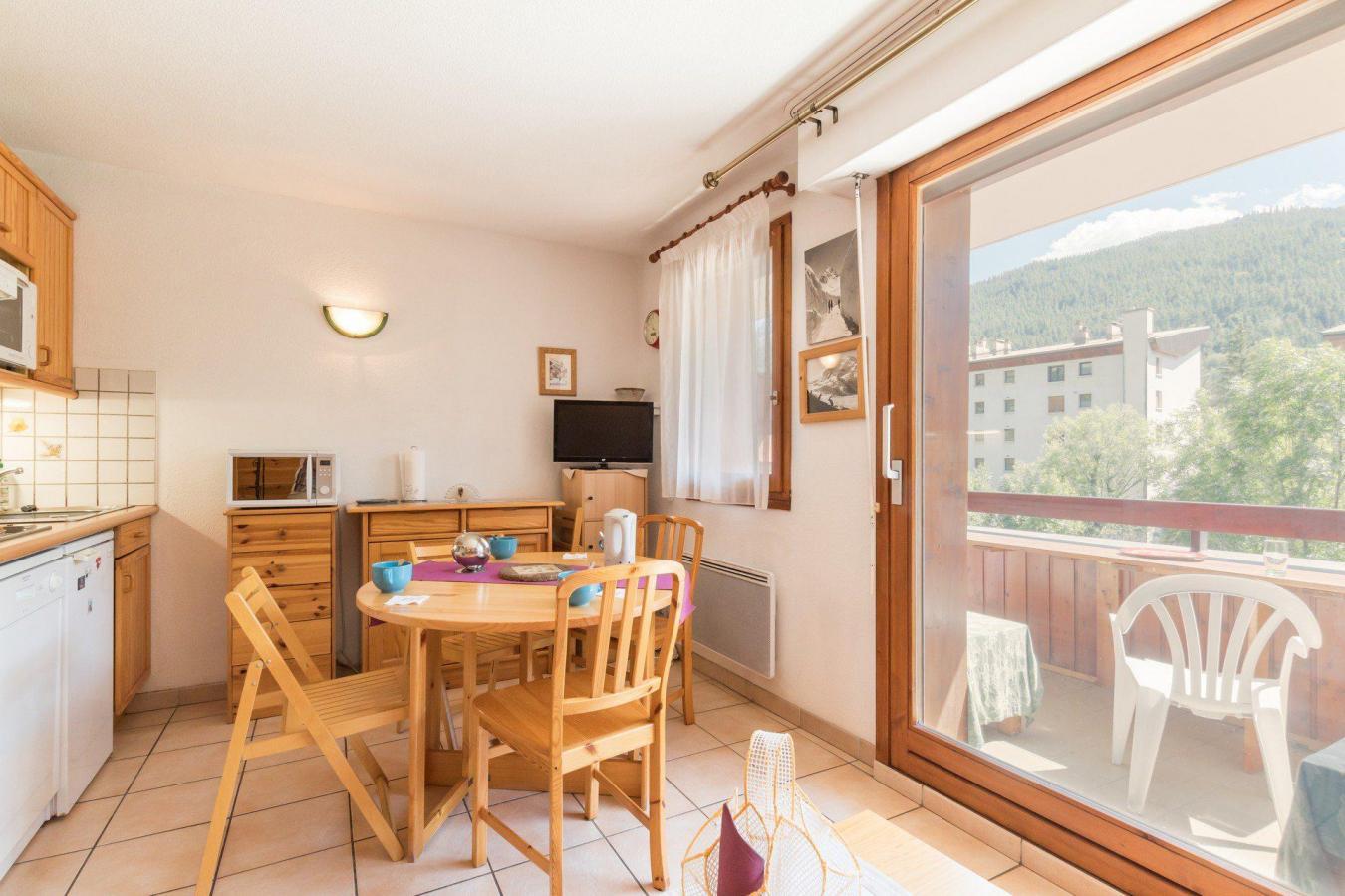 Location au ski Studio cabine 4 personnes (566) - Residence Vallonpierre - Serre Chevalier