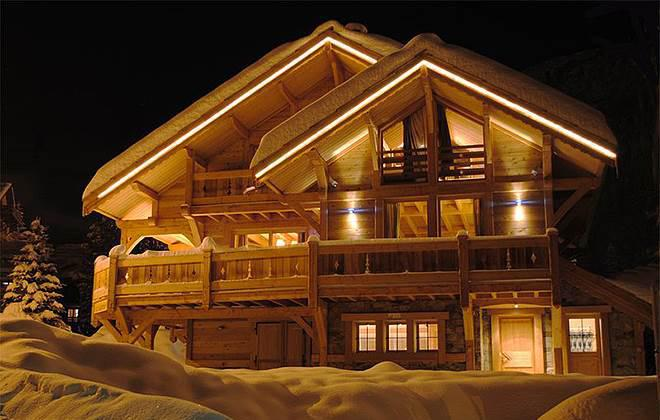 Vacanze in montagna Chalet les Clarines - Serre Chevalier - Esteriore inverno