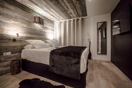 Location au ski Chambre Zen (2 personnes) - Hôtel Rock Noir - Serre Chevalier - Chambre