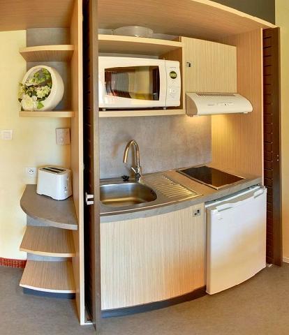 Wynajem na narty Hôtel Suite Home Briançon - Serre Chevalier - Aneks kuchenny