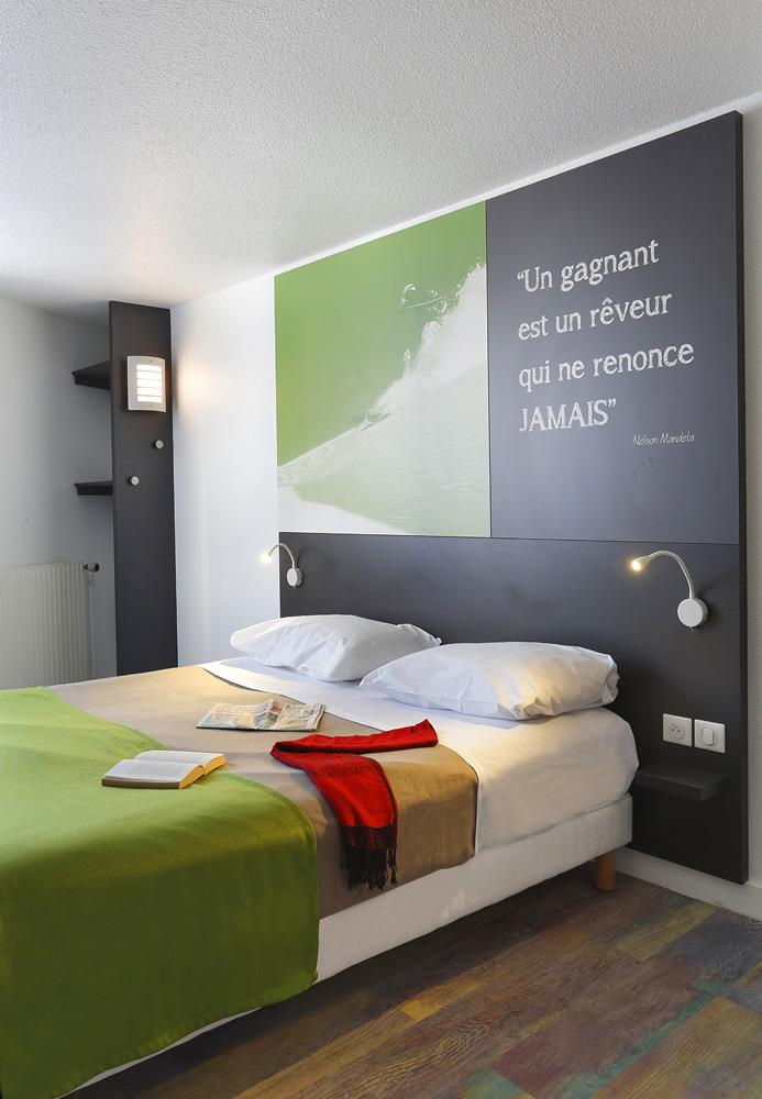 Skiverleih Hôtel Suite Home Briançon - Serre Chevalier - Schlafzimmer