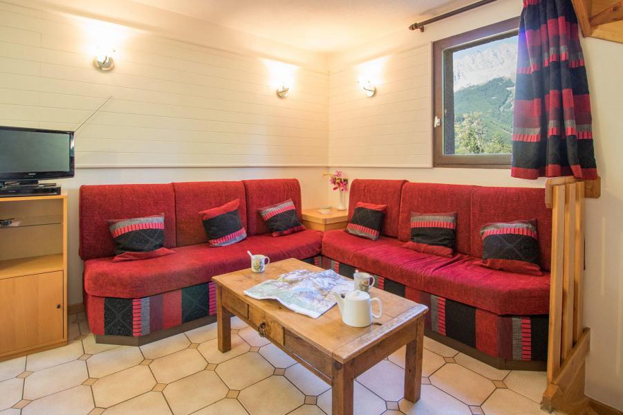 Location au ski Appartement triplex 5 pièces 8 personnes (6) - La Résidence le Clos des Abeilles - Serre Chevalier - Banquette