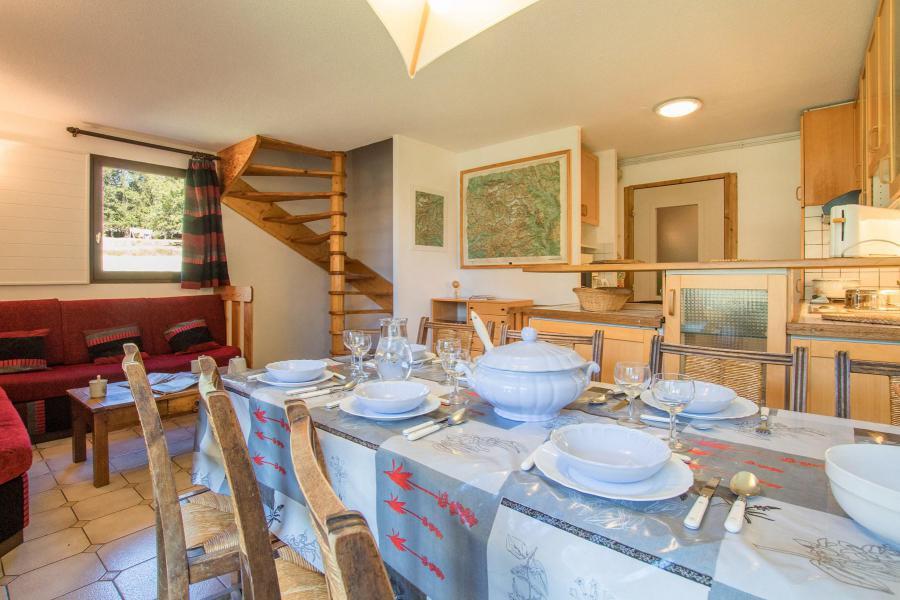Location au ski Appartement triplex 5 pièces 8 personnes (6) - La Résidence le Clos des Abeilles - Serre Chevalier - Séjour