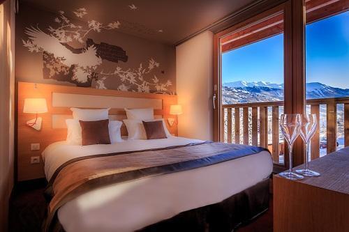 Location au ski Le Grand Aigle Hôtel et Spa - Serre Chevalier - Chambre