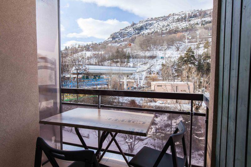 Location au ski Appartement 2 pièces cabine 5 personnes (301) - Le Relais de la Guisane - Serre Chevalier - Extérieur hiver