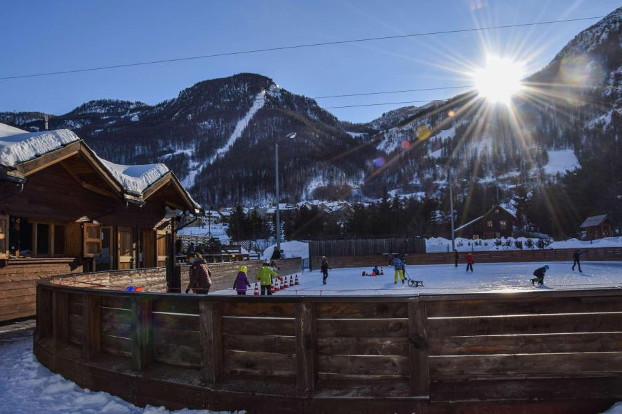 Location au ski Studio coin montagne 4 personnes (046) - Résidence Aigle Noir - Serre Chevalier