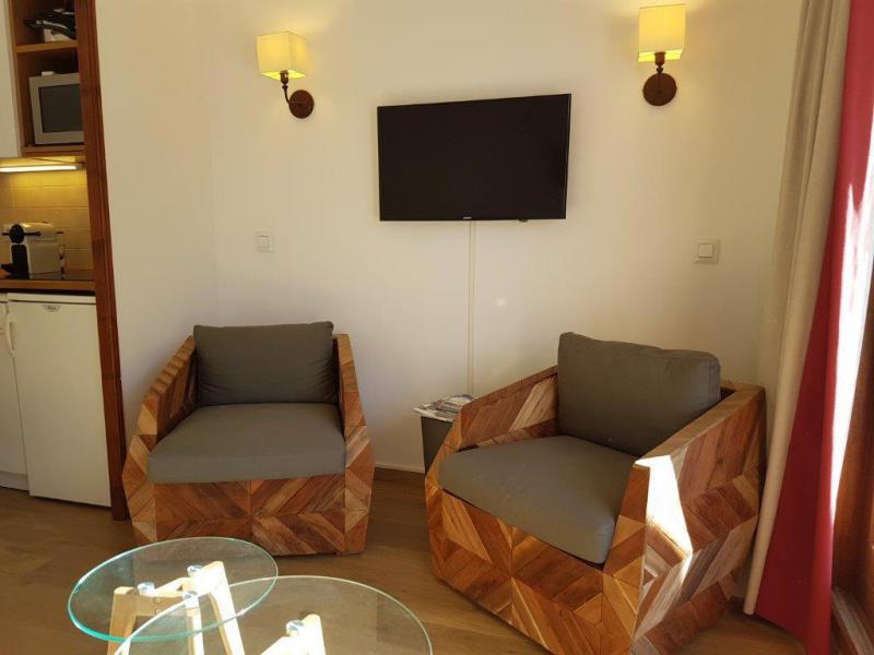 Location au ski Studio 4 personnes (610) - Résidence Alpaga - Serre Chevalier - Appartement