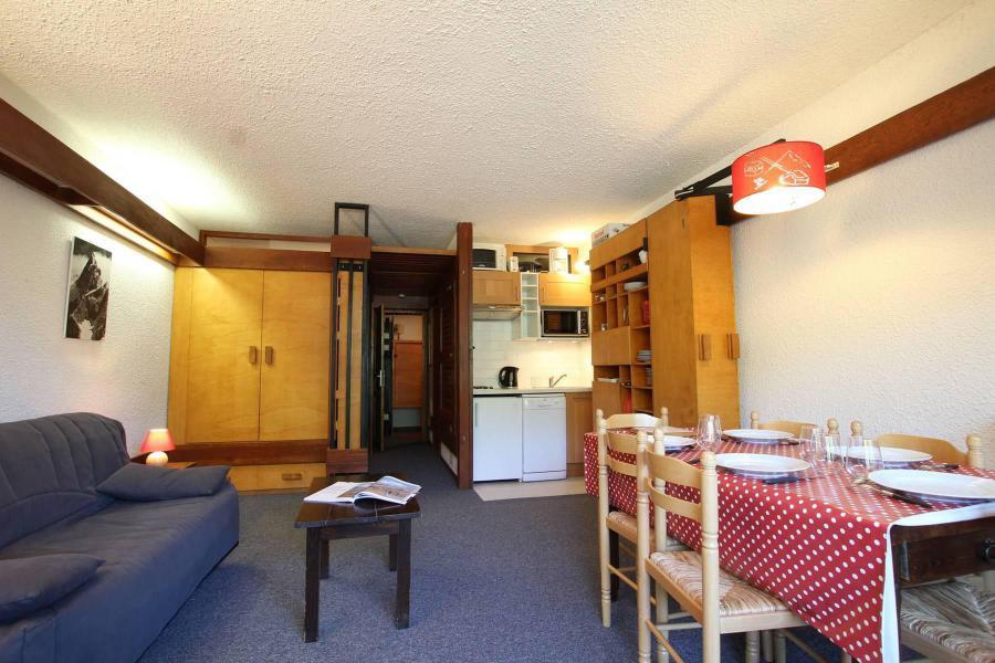 Location au ski Studio coin montagne 5 personnes (B100) - Résidence Alpage - Serre Chevalier