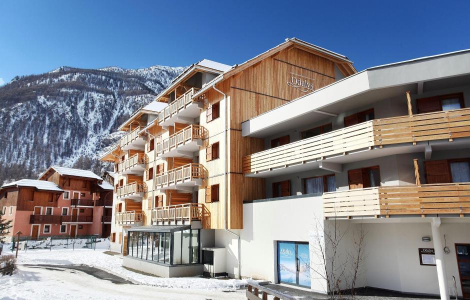 Location au ski Résidence Aquisana - Serre Chevalier - Extérieur hiver