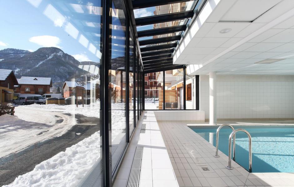 Location au ski Résidence Aquisana - Serre Chevalier - Piscine