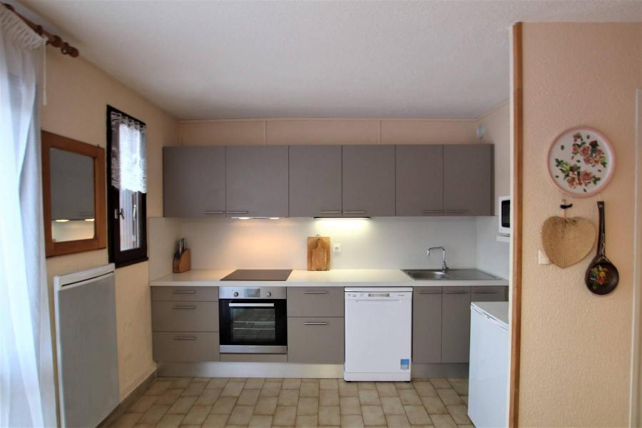 Location au ski Appartement 2 pièces cabine 5 personnes (A306) - Résidence Central Parc 1a - Serre Chevalier - Cuisine ouverte