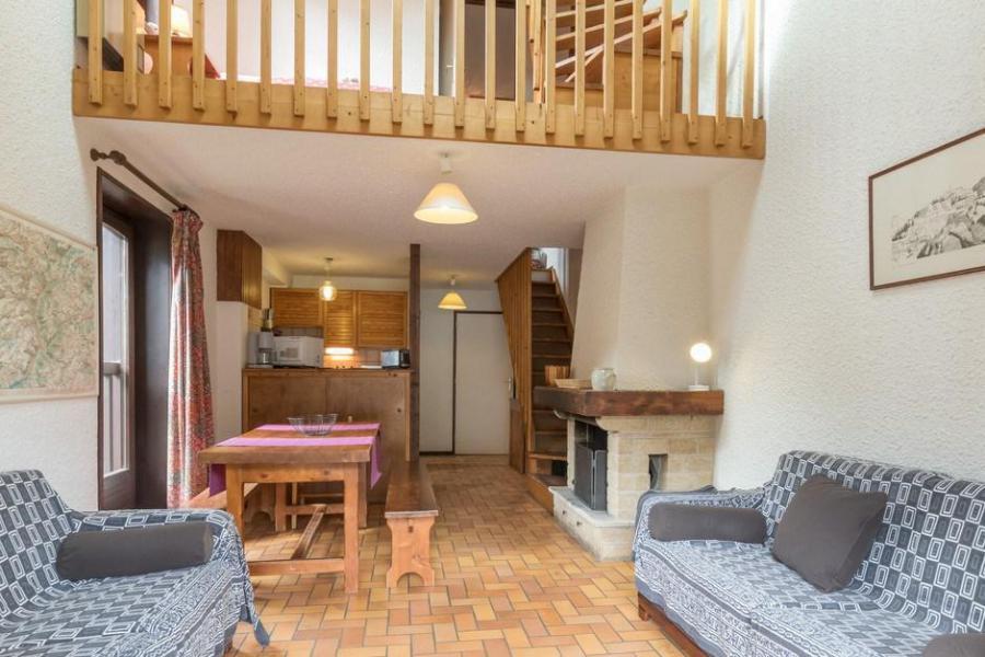 Location au ski Appartement triplex 4 pièces 8 personnes (301) - Résidence Edelweiss - Serre Chevalier - Séjour