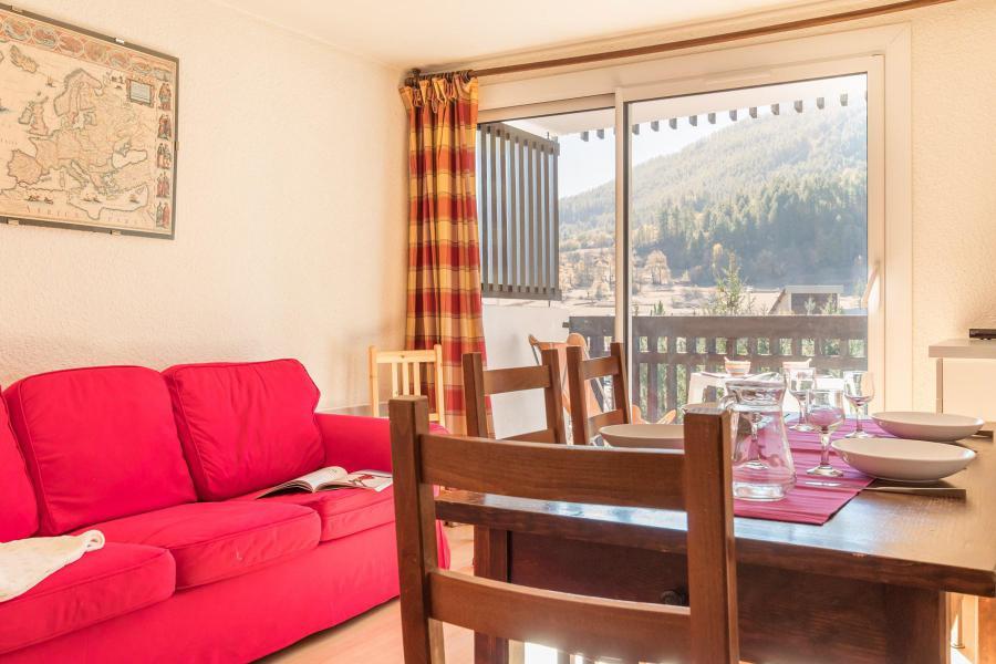 Location au ski Appartement 3 pièces 6 personnes (DAN112) - Résidence Grand Pré - Serre Chevalier - Séjour