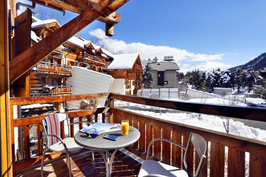 Wynajem na narty Résidence l'Adret - Serre Chevalier - Zima na zewnątrz