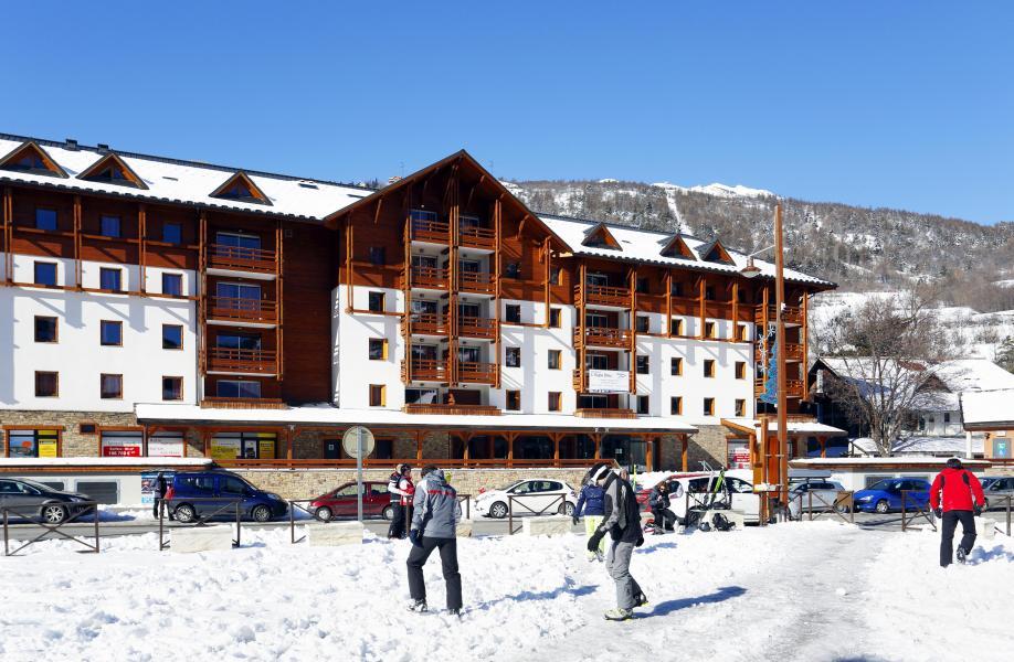 Alquiler al esquí Résidence l'Aigle Bleu - Serre Chevalier - Invierno