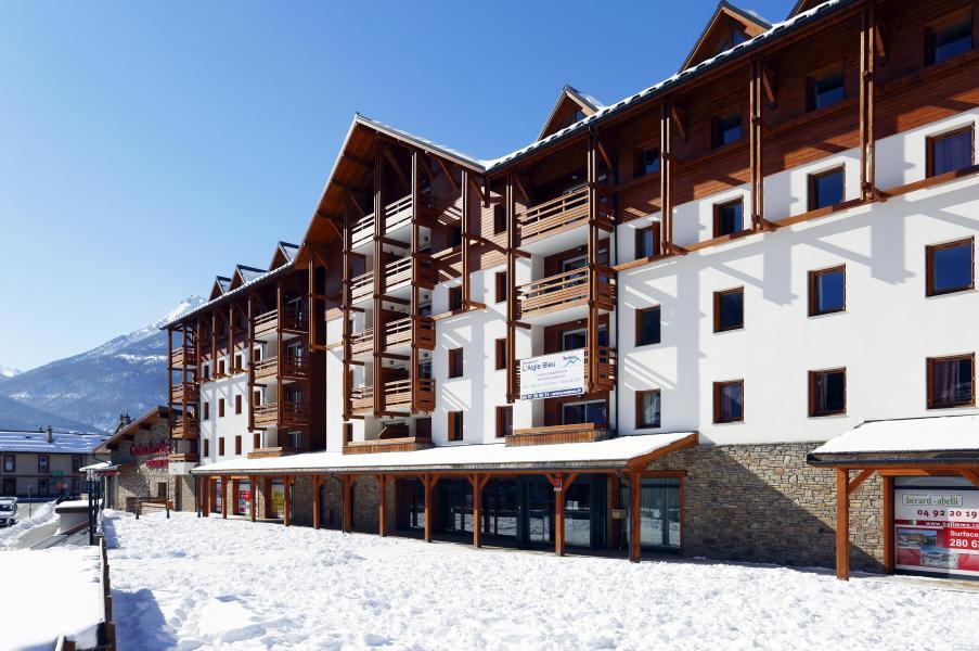 Vakantie in de bergen Résidence l'Aigle Bleu - Serre Chevalier - Buiten winter