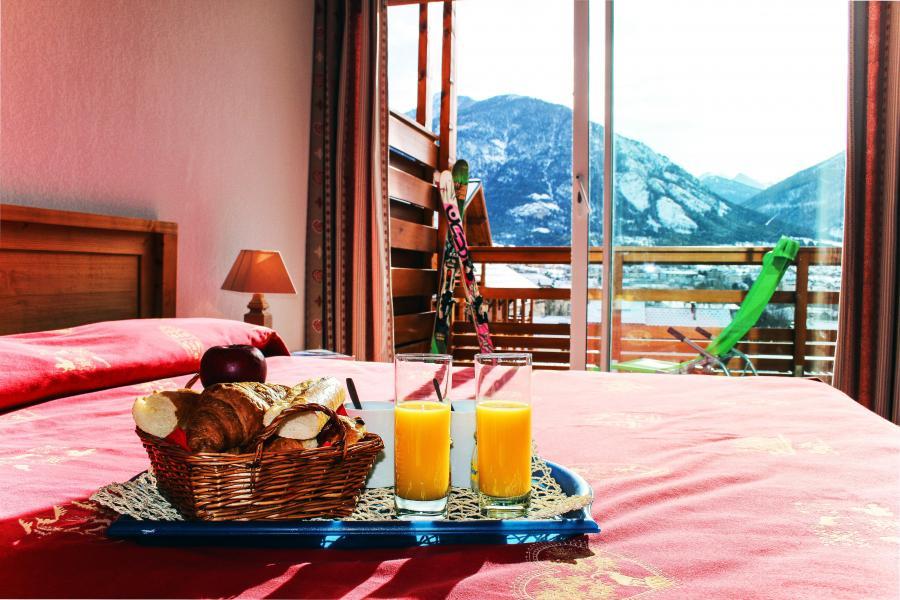 Location au ski Résidence l'Aigle Bleu - Serre Chevalier - Chambre