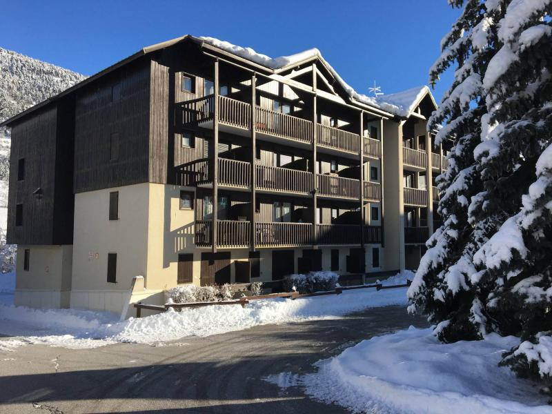 Location au ski Résidence l'Aiglon - Serre Chevalier - Extérieur hiver